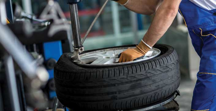 Few Tips on Changing a Rim on a Tyre